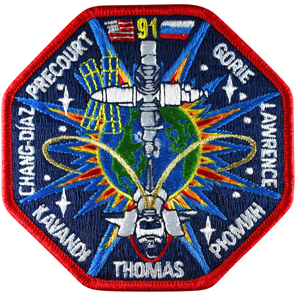 STS-91 - Space Patches