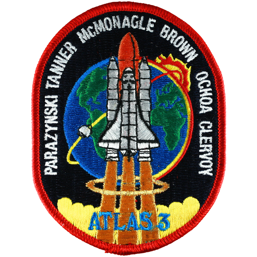 STS-66 - Space Patches
