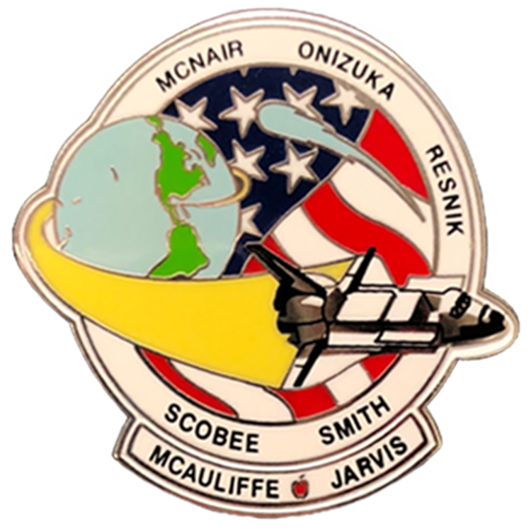 STS-51L Pin - Space Patches