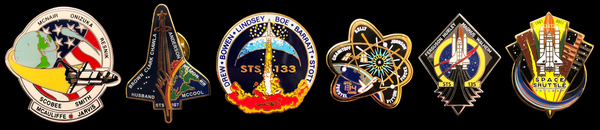 space shuttle mission pin set - photo #23