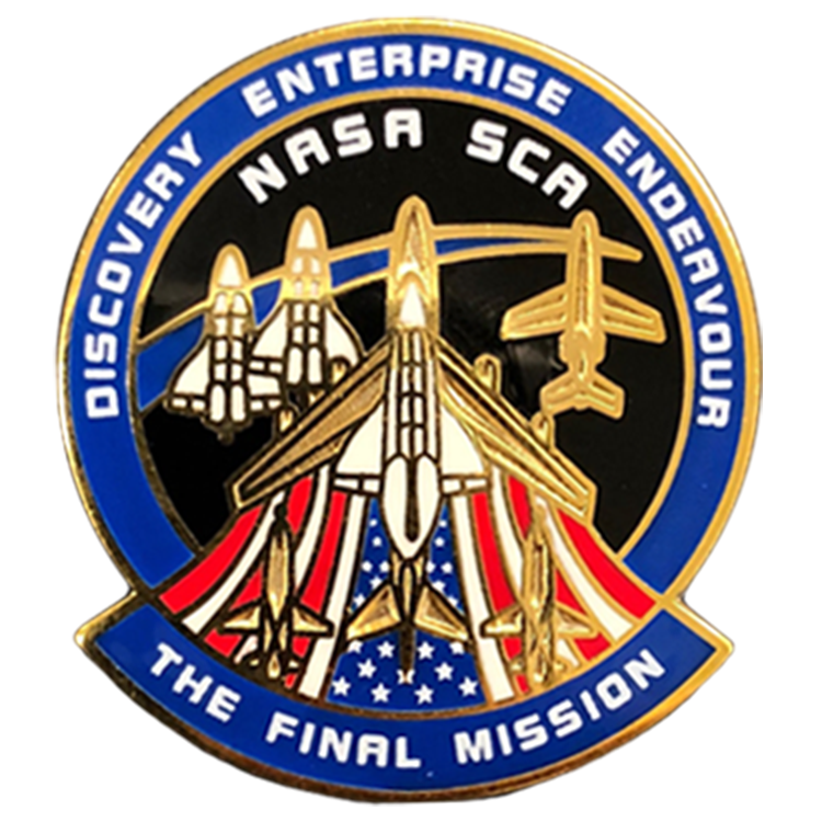 The Final Misson Pin - Space Patches