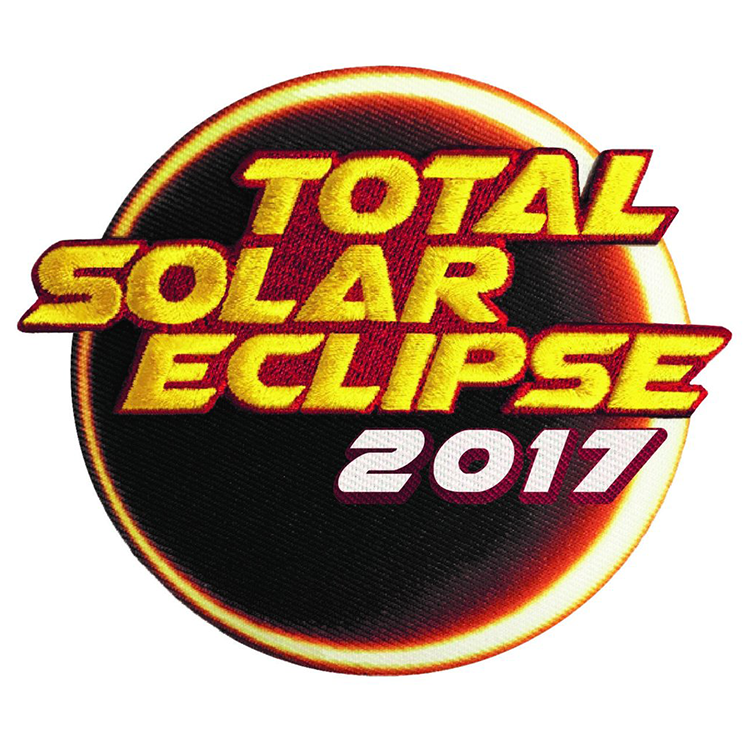 Solar Eclipse 2017 - Space Patches