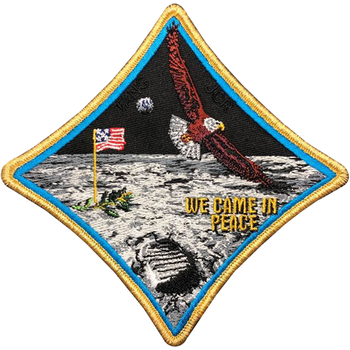 Apollo 11 Commemorative Spirit - Space Patches