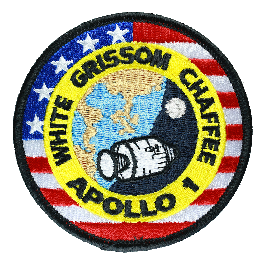Apollo 1 - Space Patches