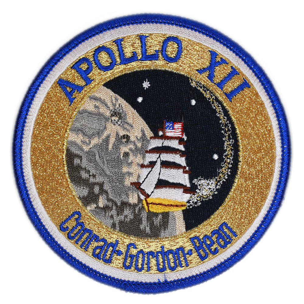 Apollo 12 - Space Patches
