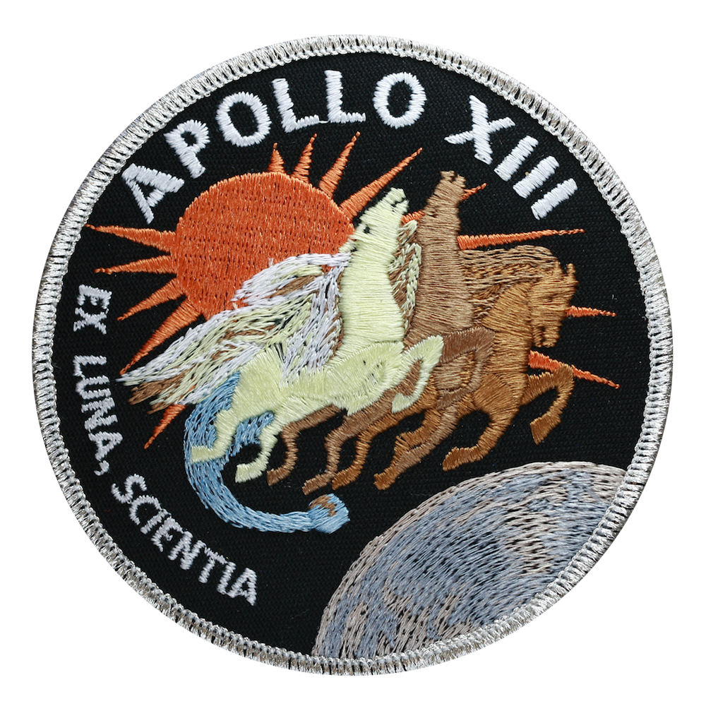 Apollo 13 - Space Patches