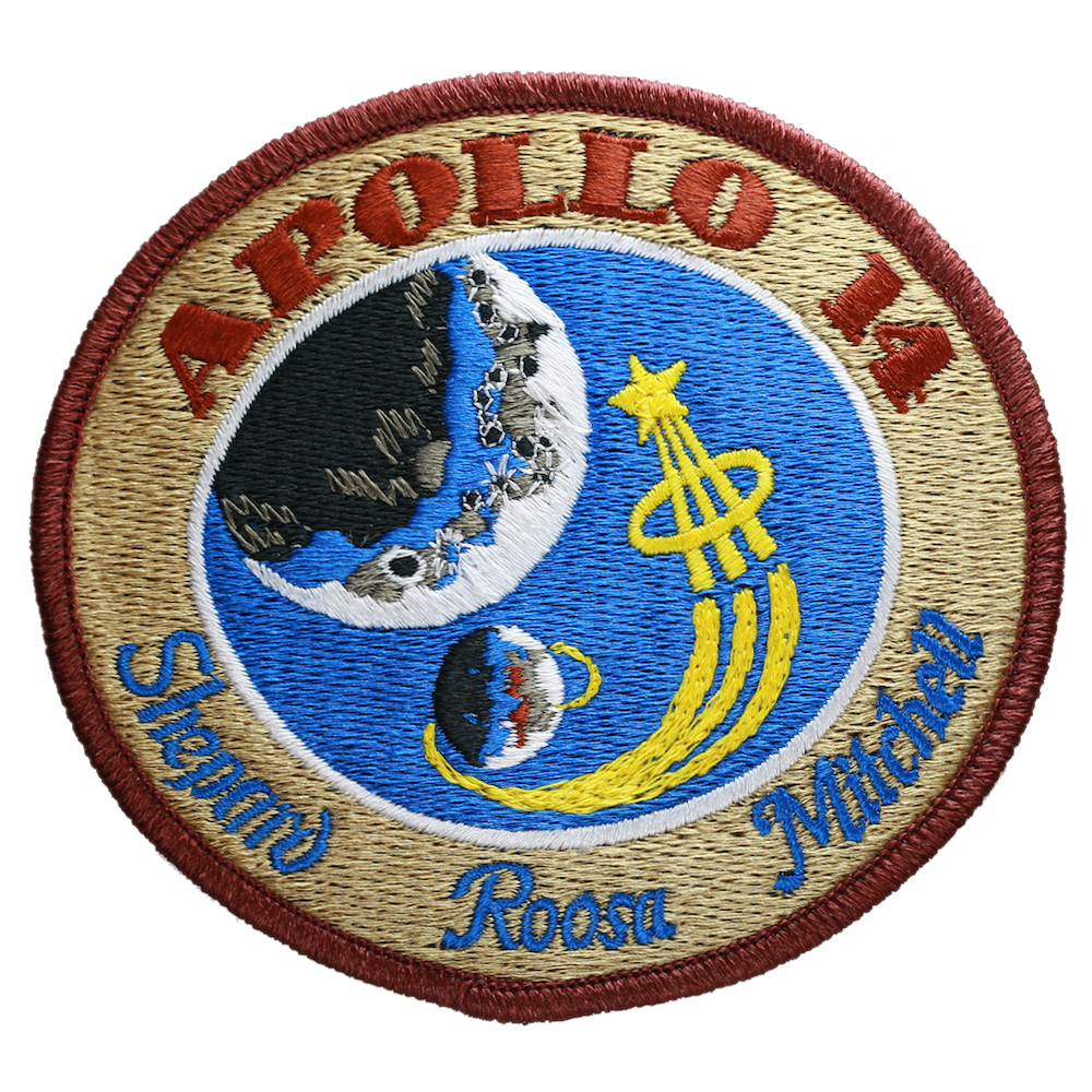 Apollo 14 - Space Patches