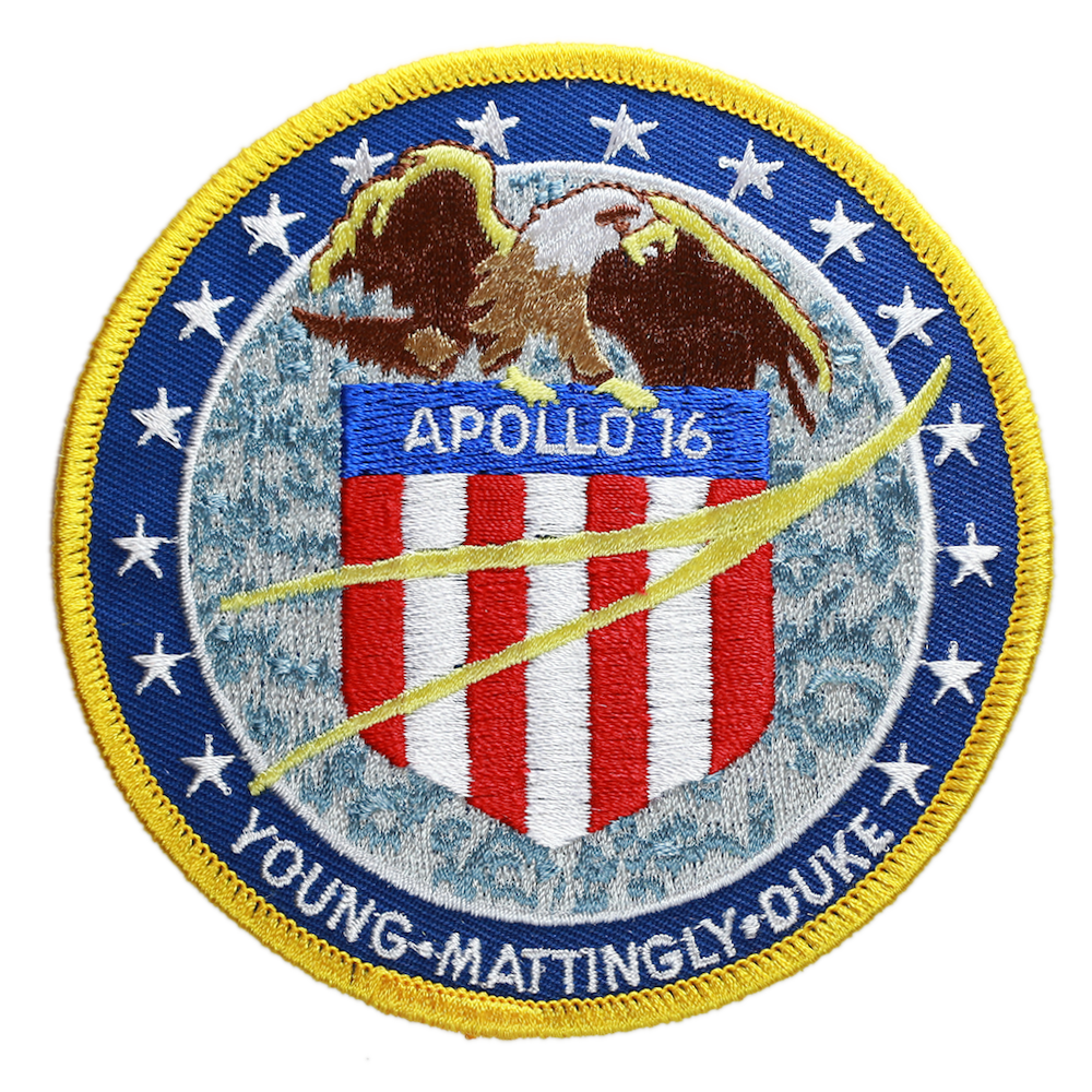 Apollo 16 - Space Patches