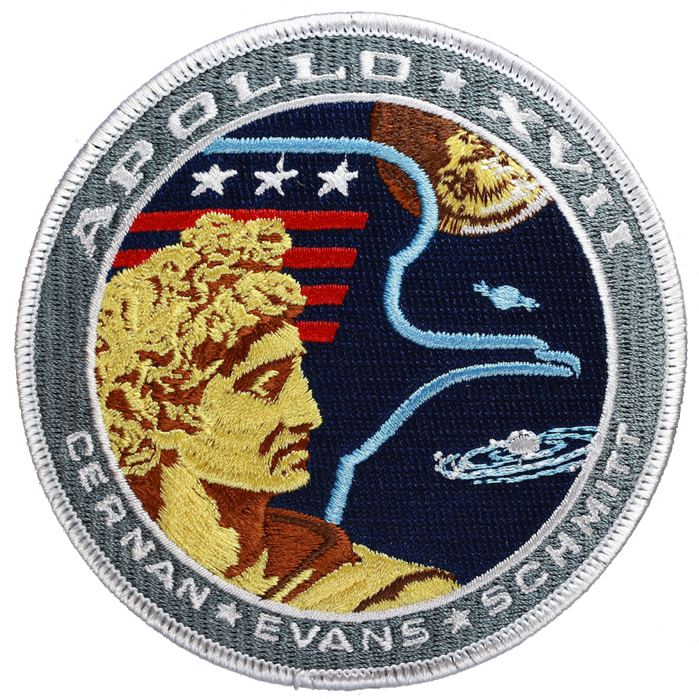 Apollo 17 - Space Patches