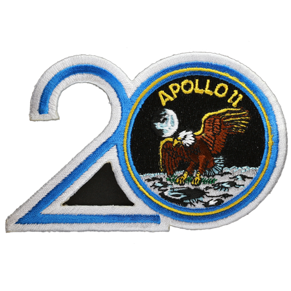 Apollo 11 — 20th Anniversary - Space Patches