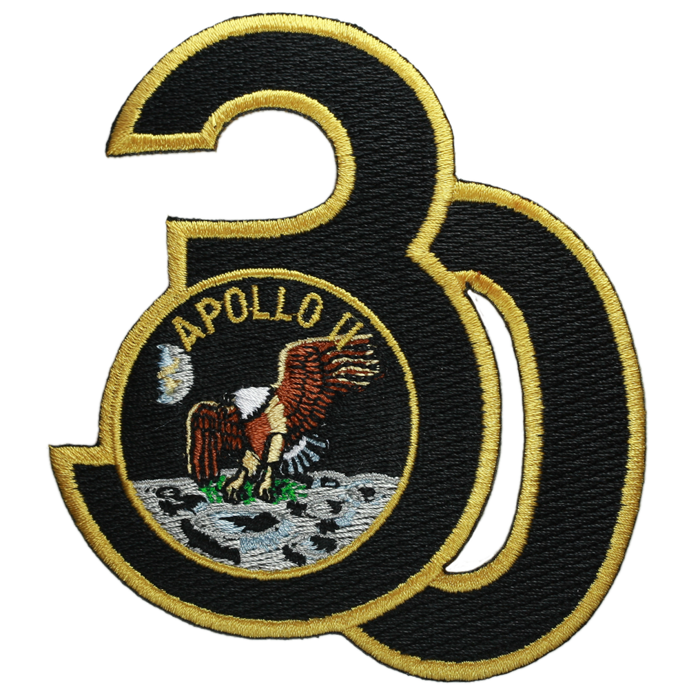 Apollo 11 — 30th Anniversary - Space Patches