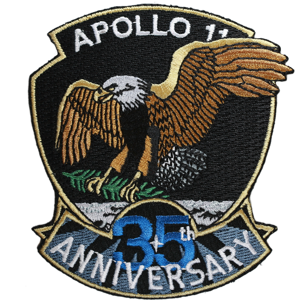 Apollo 11 — 35th Anniversary (Official) - Space Patches