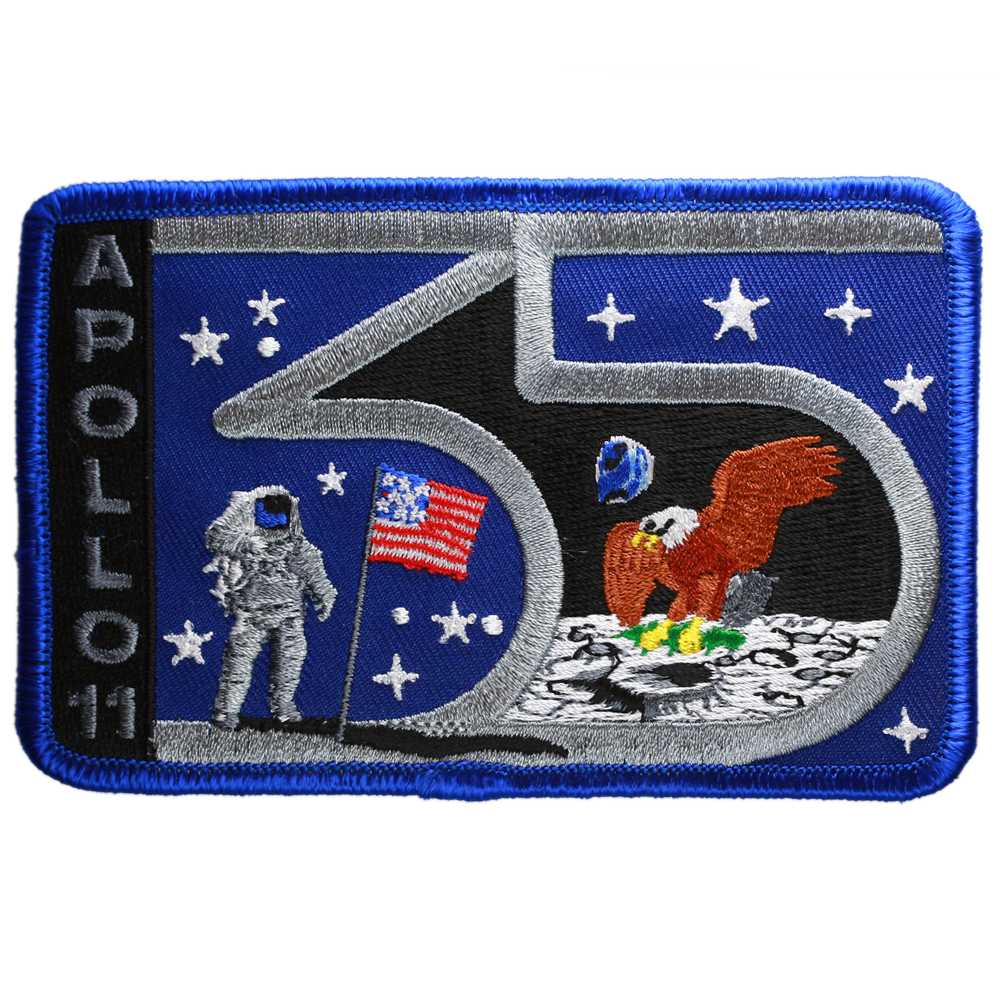 Apollo 11 — 35th Anniversary - Space Patches