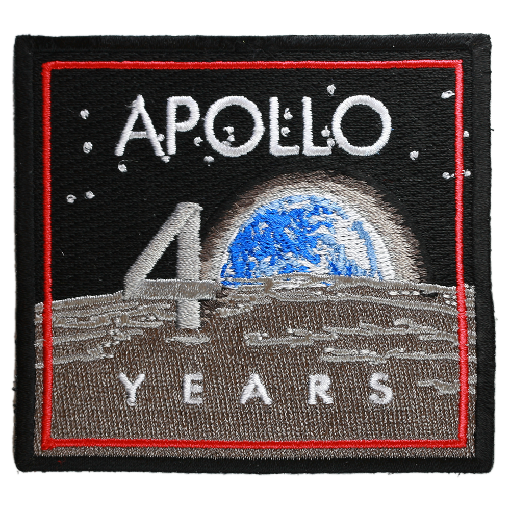 Apollo 11 — 40th Anniversary - Space Patches