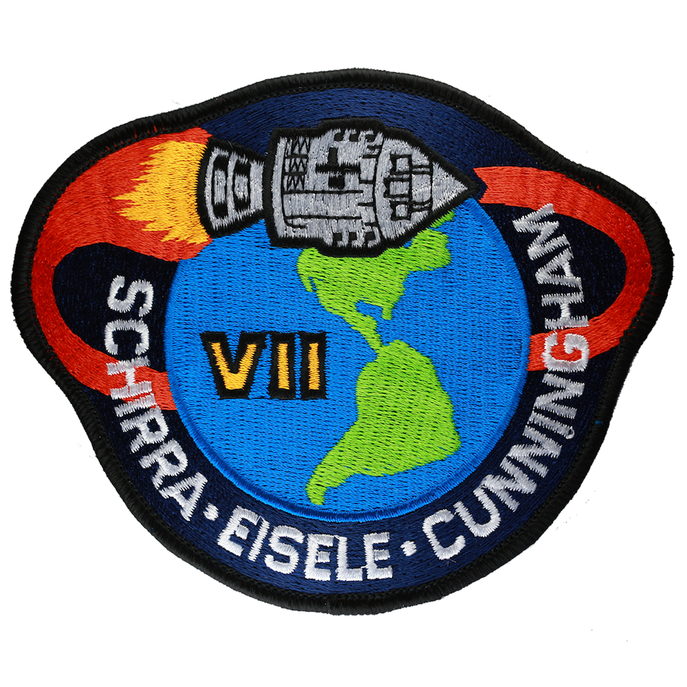 Apollo 7 - Space Patches