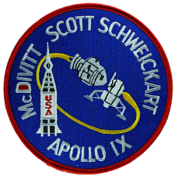 Apollo 9 – Space Patches