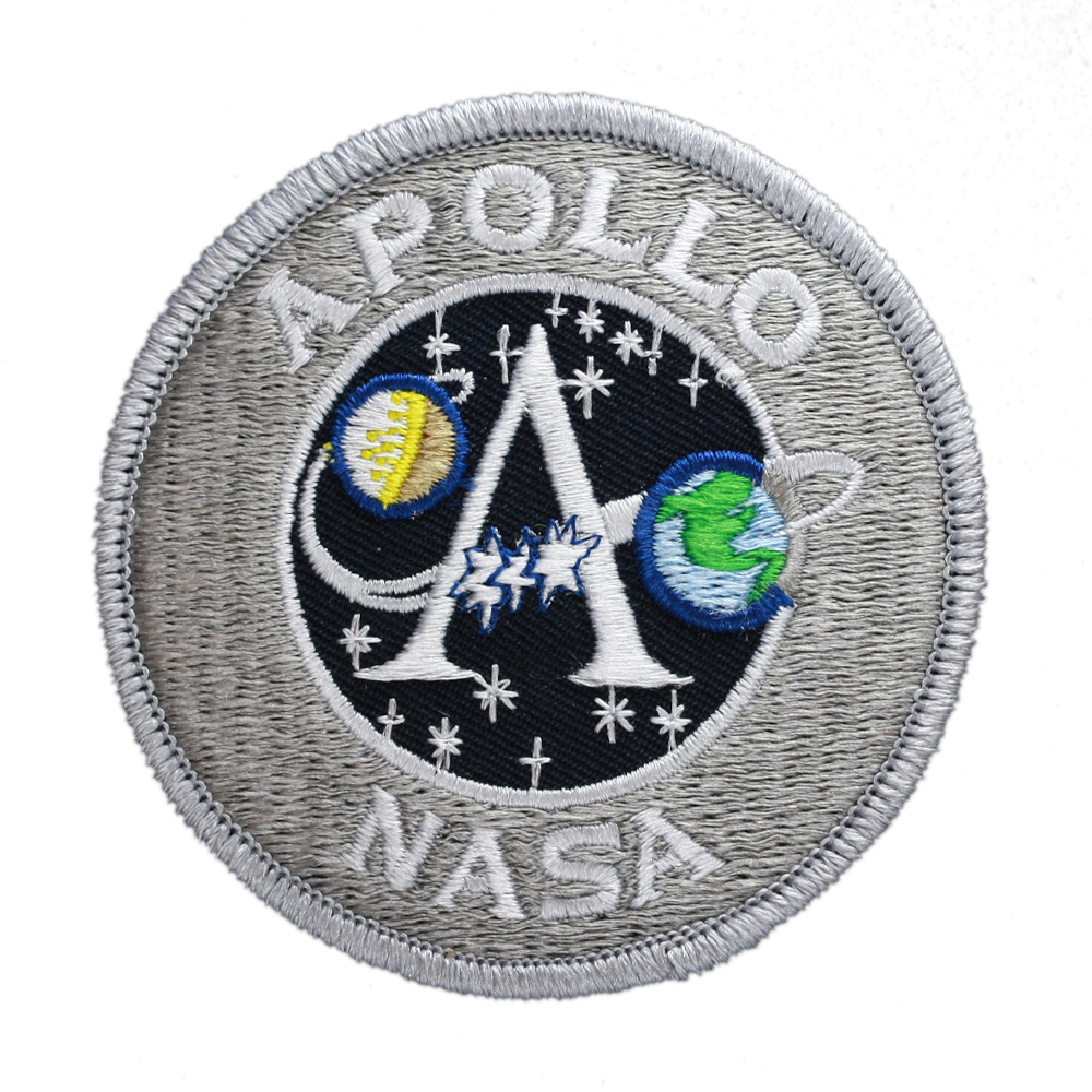 "Apollo Program 3"" Souvenir - Space Patches"