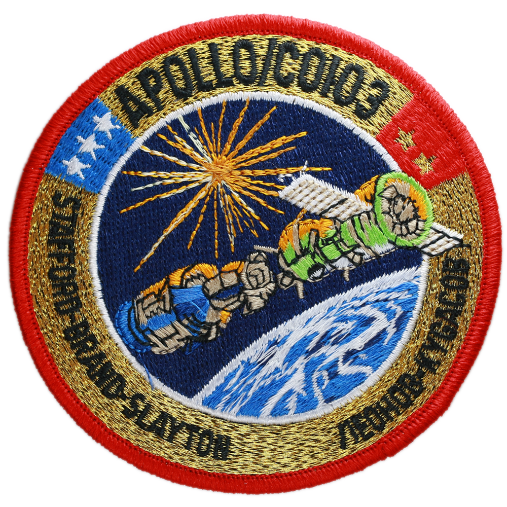 Apollo Soyuz Crew - Space Patches