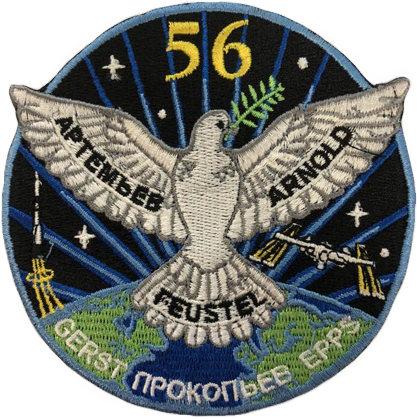 Expedition 56 Crew Change - Space Patches