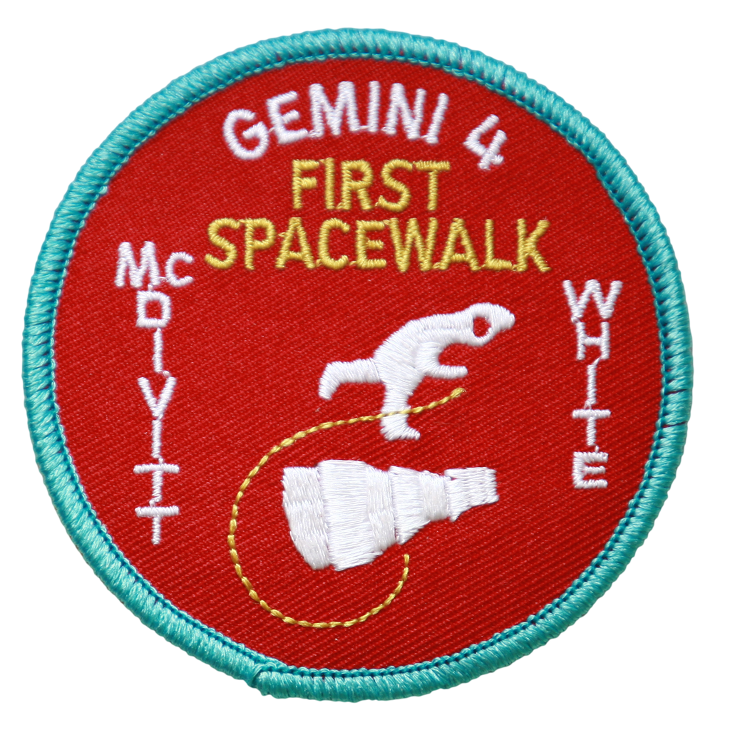 Gemini 4 Souvenir Version - Space Patches