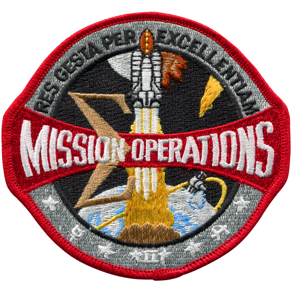 Mission Operations - Space Patches