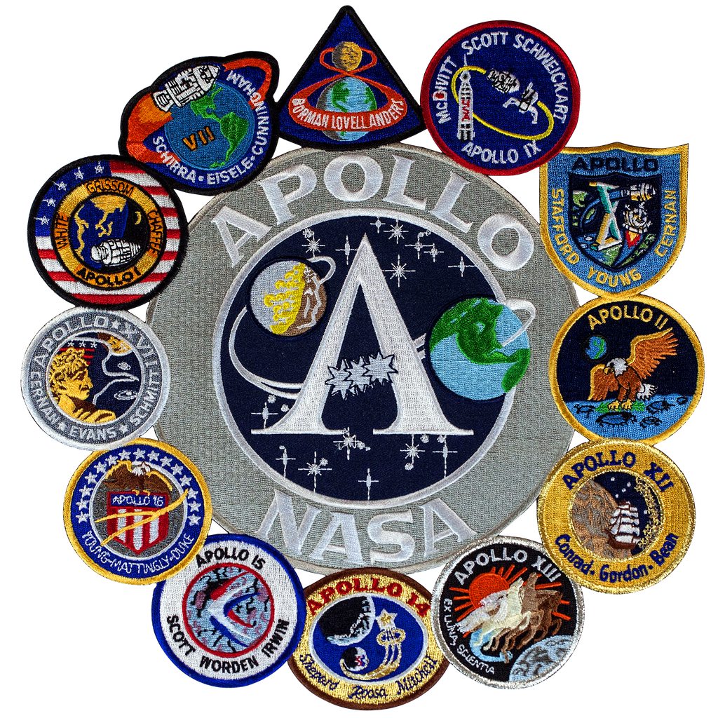 Apollo Collage - Space Patches