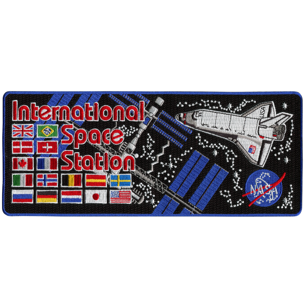 ISS Back-Patch - Space Patches