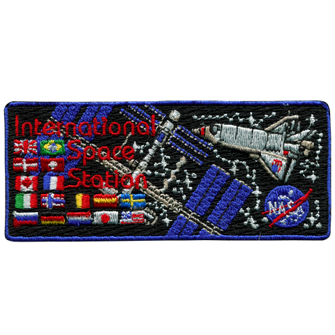 International Space Station Flags