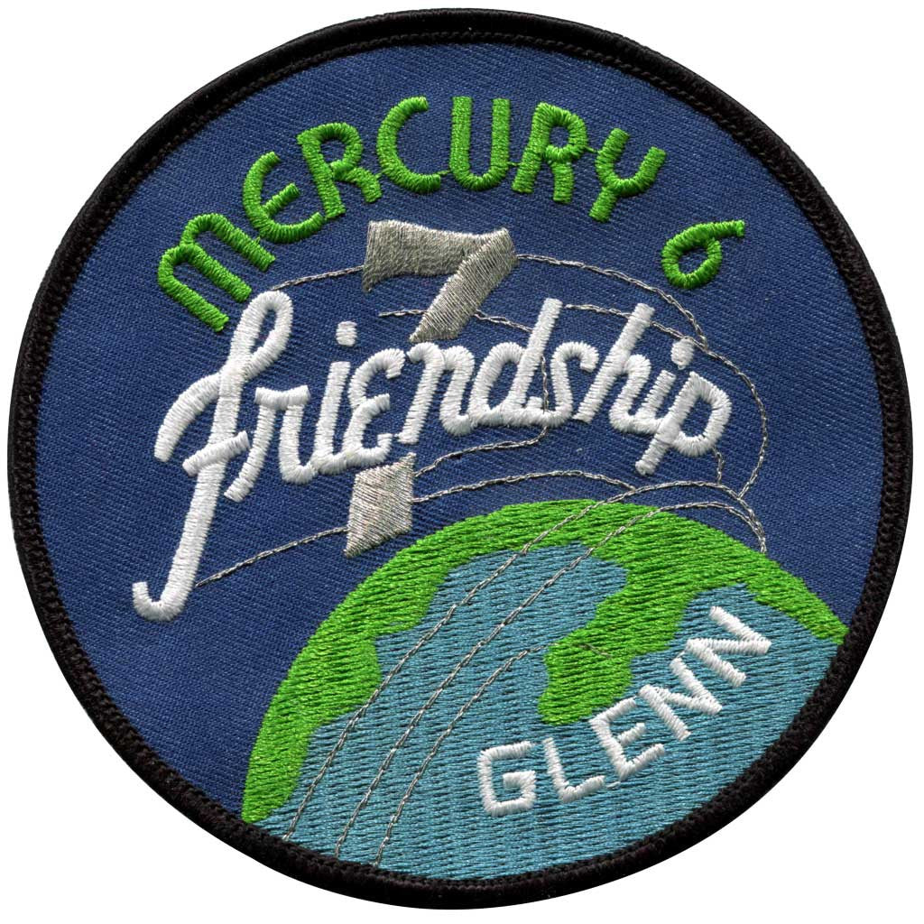 Mercury Six-Friendship 7 Jumbo - Space Patches