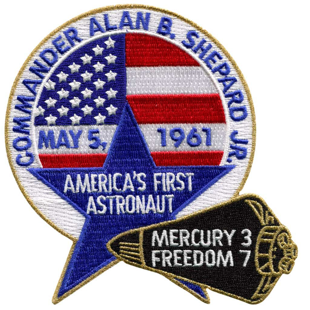 Alan Shepard Commemorative - Space Patches