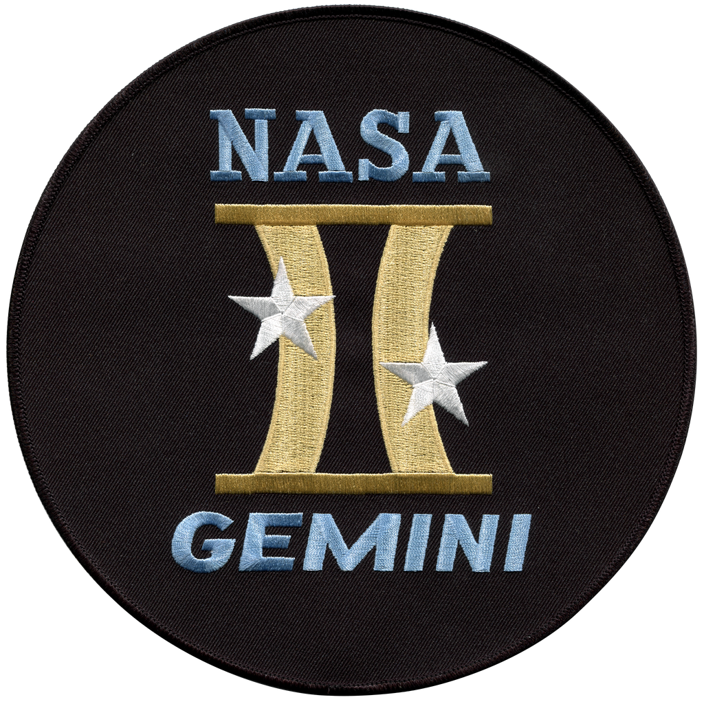 Gemini Program Back-Patch - Space Patches