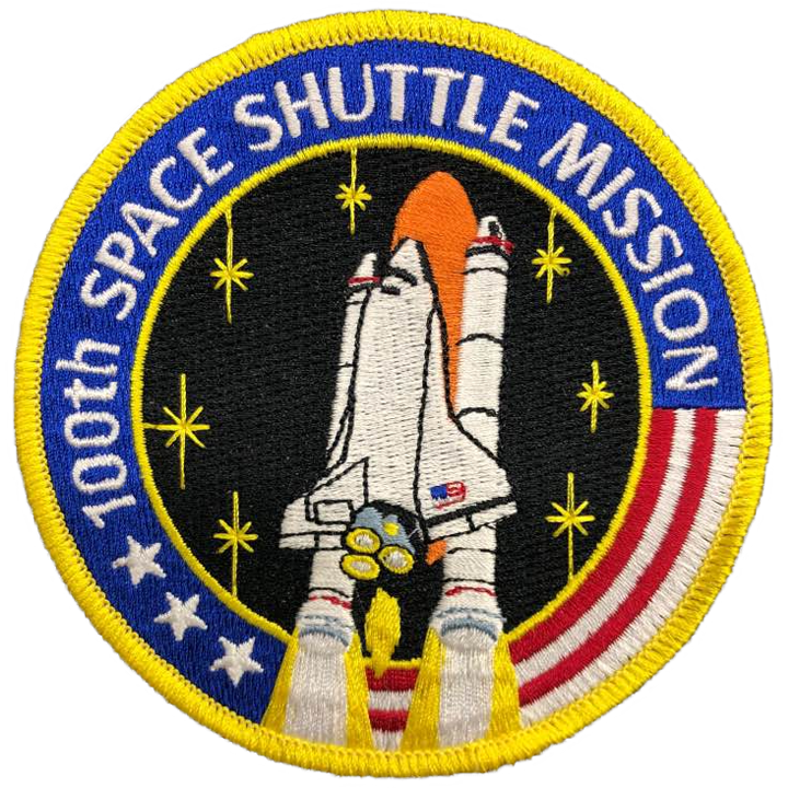 100th Mission Commemorative - Space Patches
