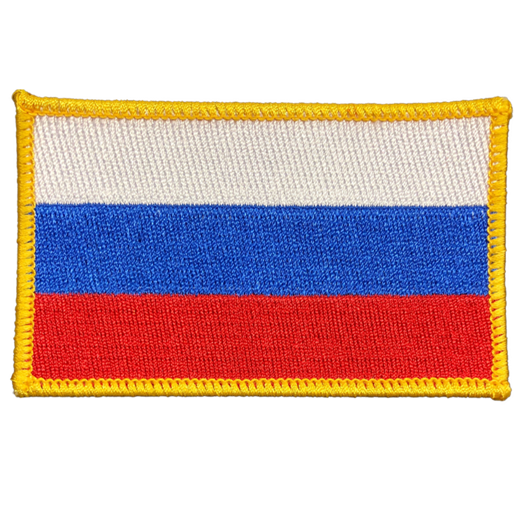 Russia Flag - Space Patches