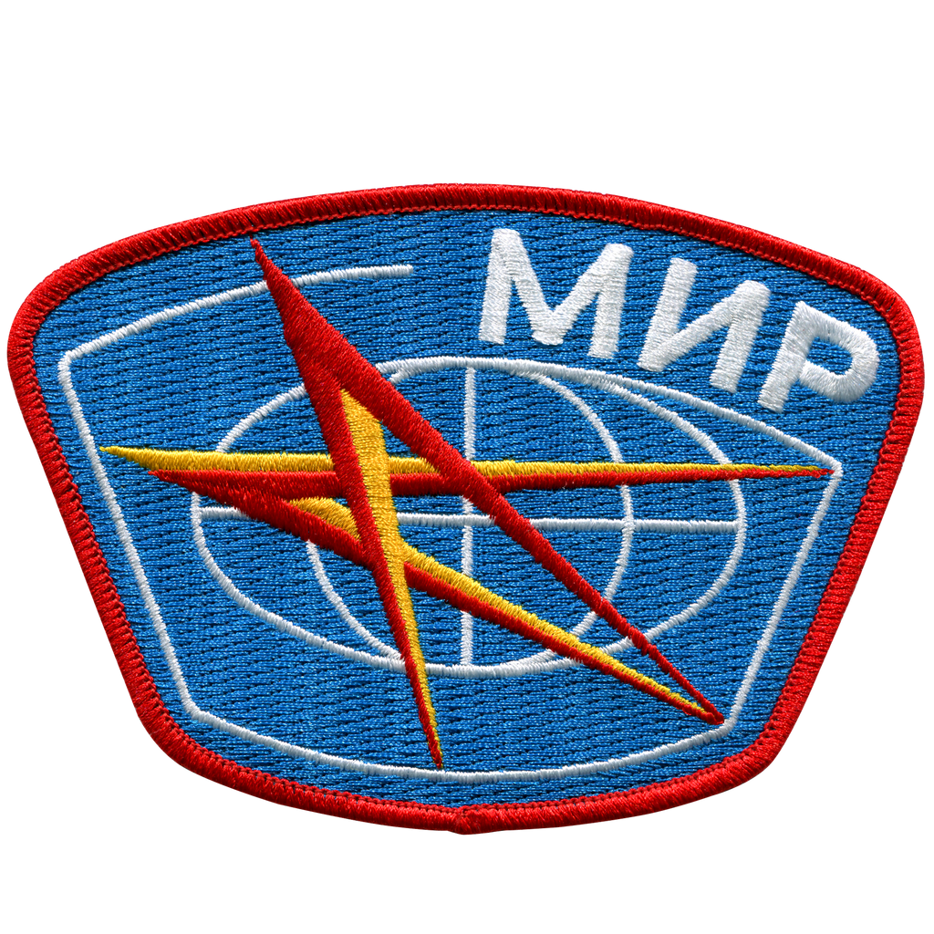 Mir Space Station - Space Patches