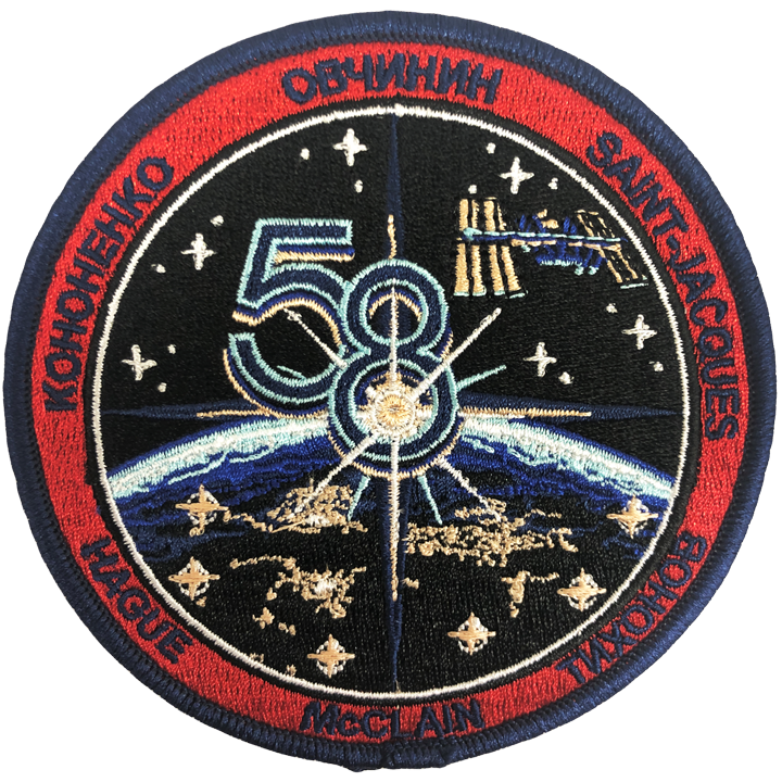 Expedition 58 Crew Change 1 (Mfg. Error) - Space Patches
