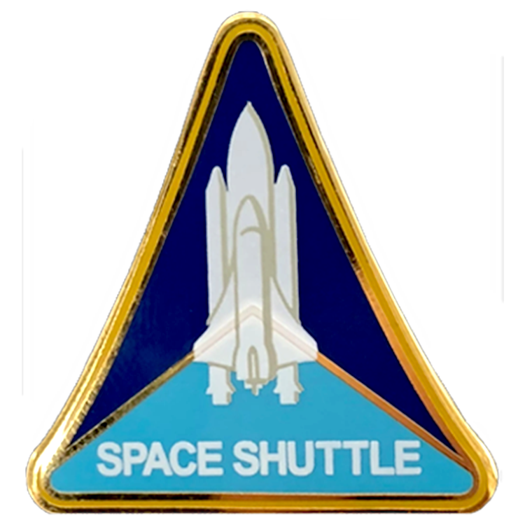 Shuttle Program Pin - Space Patches