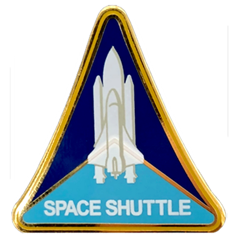 Shuttle Program Pin