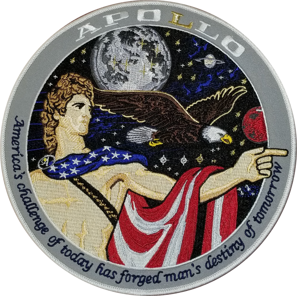 Apollo Spirit Back-Patch - Space Patches
