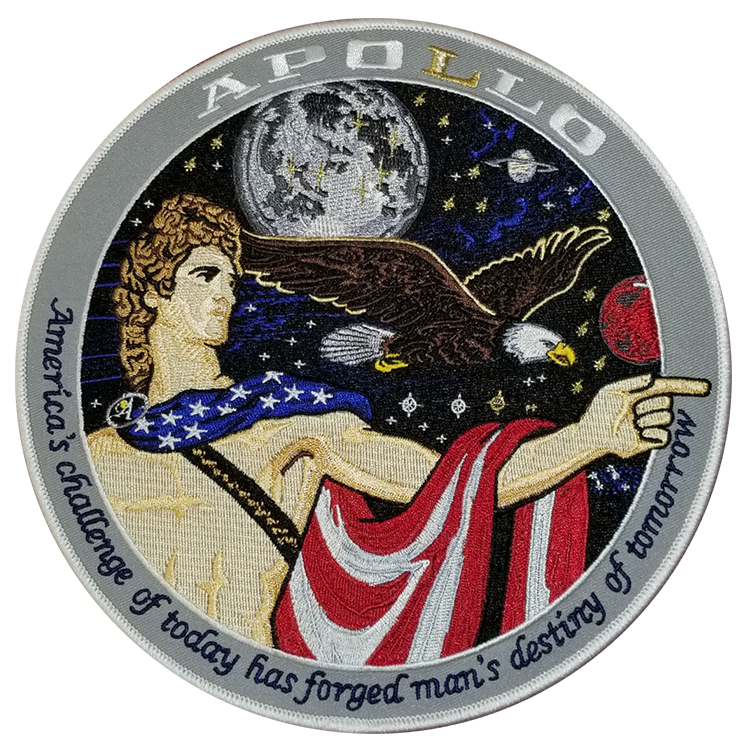 Apollo Commemorative Spirit Set - Space Patches