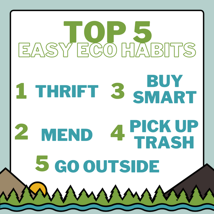 Our Top 5 Easy Eco Habits
