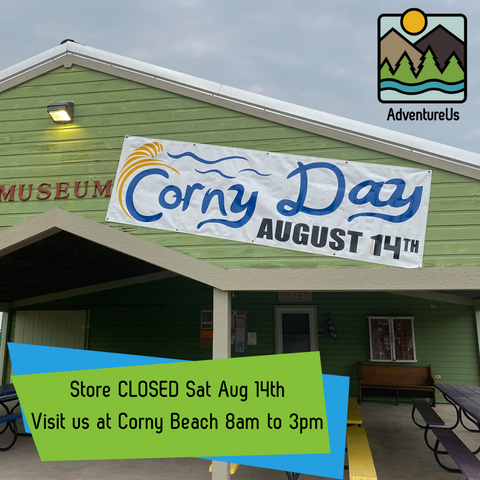 Have a blast with AdventureUs at Corny Day August 14th, 2021