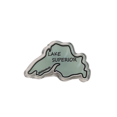 Lake Superior Acrylic Pin