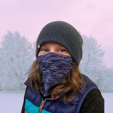 Load image into Gallery viewer, AdventureUs' Face Guards are designed to fit comfortable over mouths and noses to stay in place while you have fun.