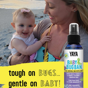 Stay focused on the fun, not the bugs with this family safe bug spray.