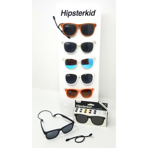These comfortable, stylish baby, toddler & little kid sunglasses make life easy with a stay on strap and soft case included.