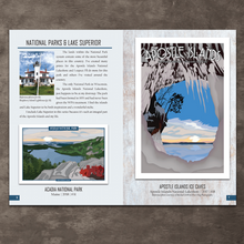 Load image into Gallery viewer, There's no better up north cabin coffee table book than this- Featuring all of your favorite places, events, and more!