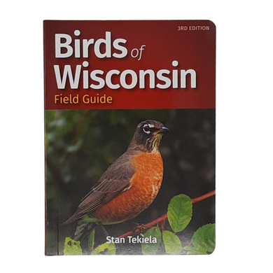Get Wisconsin's best-selling bird guide! This 3rd edition is packed with lots of information to make bird watching more enjoyable, including: 121 species found in Wisconsin Color coded to help you identify birds faster Professional photos Naturalist facts & tidbits