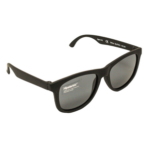 Hipster Kid Sunglasses in Classic Black are polarized, 100% UVA/UVB protection and durable for all of your adventures.