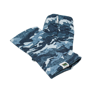 Snow Sleeves Camo Yourself Blue- Show off your army pride or love of hunting with this new take on the classic camouflage print.