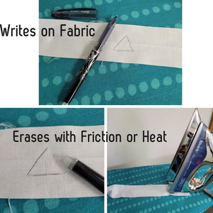 Clearly mark your craft projects and heat-erase with this great pen.